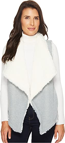 Mod-o-doc - Sweater and Faux Fur Reversible Vest