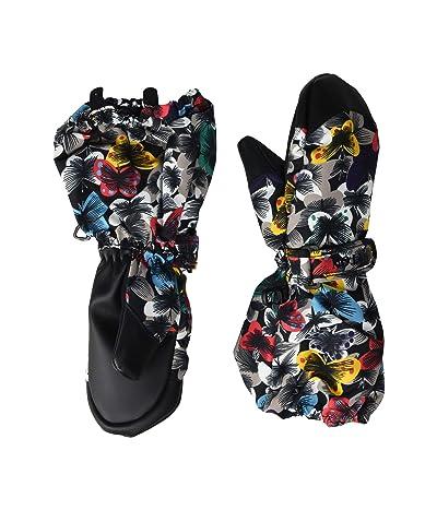 Burton Kids Minishred Heater Mitt (Toddler) (Multicolor Butterfly) Snowboard Gloves