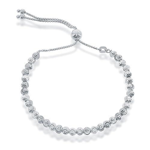 925 Silver Bracelet: Amazon com