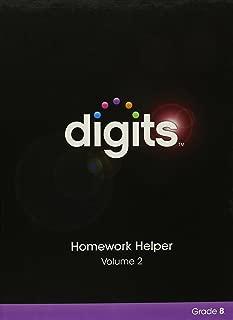 DIGITS HOMEWORK HELPER VOLUME 2 GRADE 8