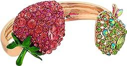 Strawberry and Apple Hinge Bracelet