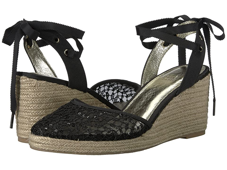 Adrianna Papell Pamela (Black Martinique Lace) Women
