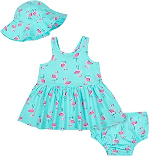 GERBER Girls' Toddler 3-Piece Dress Set