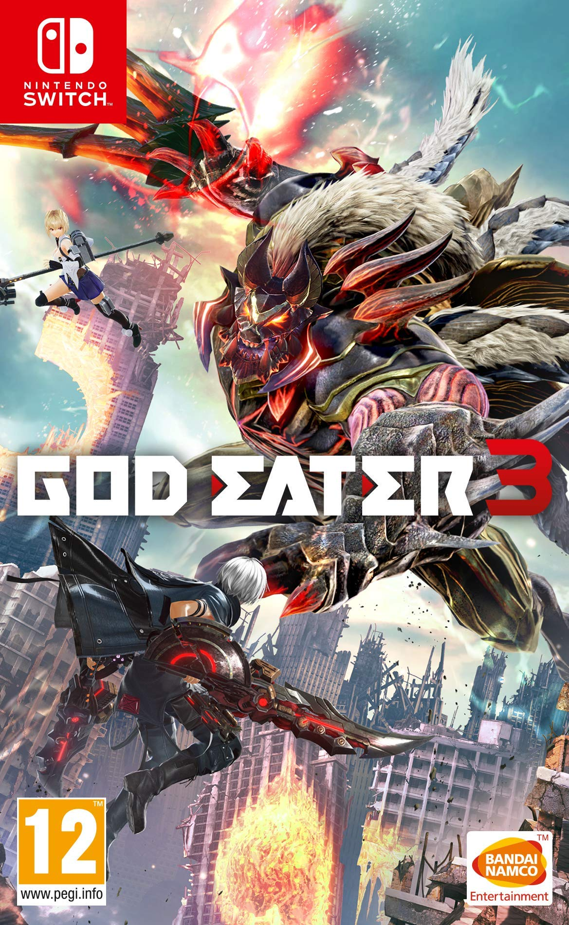 GOD EATER 3 SWITCH - - Nintendo Switch [Importación italiana]: Amazon.es: Videojuegos