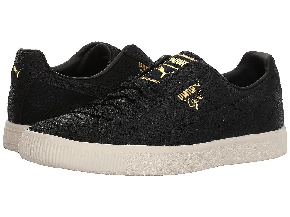 PUMA Clyde Euphoria (Puma Black/Puma Team Gold/Marshmallow) Women's Shoes