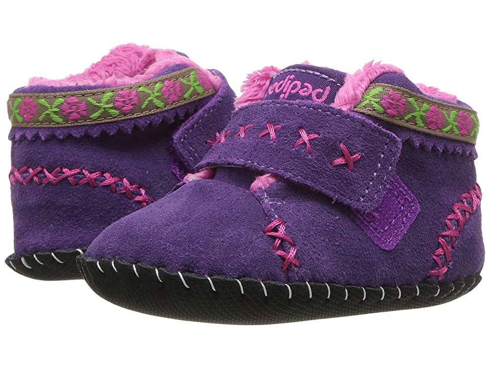 pediped Rosa Originals (Infant) (Purple) Girl