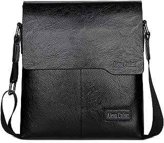 Shoulder Bag Business Man Bag Messenger Bag for Men Crossbody Bag(black)