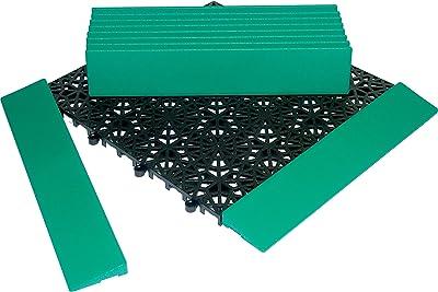 Miltex 11131Conclusion Barres pour Yoga Grille, 30x 5,5cm, Lot de 10, Vert