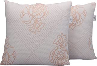 Healing Crystals India Machine Washable Hollow Fiber Filler Rectangle Couch Sofa Cushions Pillow Inserts Set (White, 2, 18...