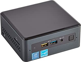 Intel NUC 7 Essential NUC7CJYSAL Desktop Computer - Intel Celeron J4005 2 GHz - 4 GB DDR4 SDRAM - 32 GB Flash Memory Capacity - Windows 10 Home 64-bit - Mini PC