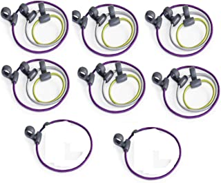 Quirky BND-1-CW1 10 Bandits All-Purpose Rubber Bands with Hooks (2 Pack)