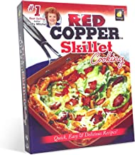 Red Copper Skillet Cooking Cookbook from Cathy Mitchell by BulbHead