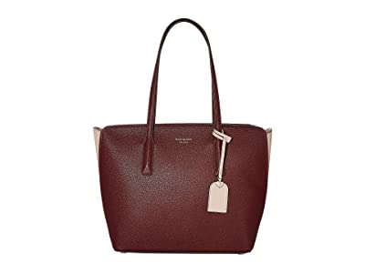 Kate Spade New York Margaux Medium Tote (Cherrywood Multi) Handbags