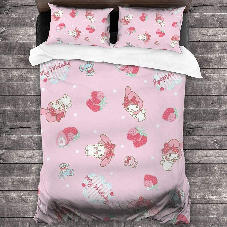 Sanrio My Melody Max 58% OFF 3-Piece Bedding Over item handling ☆ Set 86