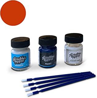 ScratchesHappen Exact-Match Touch Up Paint Kit Compatible with Mitsubishi Rotor Glow/Sunflare Orange (M08) - Preferred