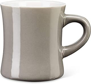 Abbott Collection 27-AVENUE-04-GRY Diner Look Mug-Grey-4