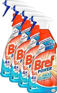Bref Power Kalk & Schmutz, Kalkreiniger, Sprühflasche, für hygienische Sauberkeit,..