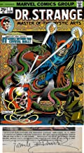 Doctor Strange Master of the Mystic Arts #1- SIGNED BY FRANK BRUNNER (Marvel Comics 1974)