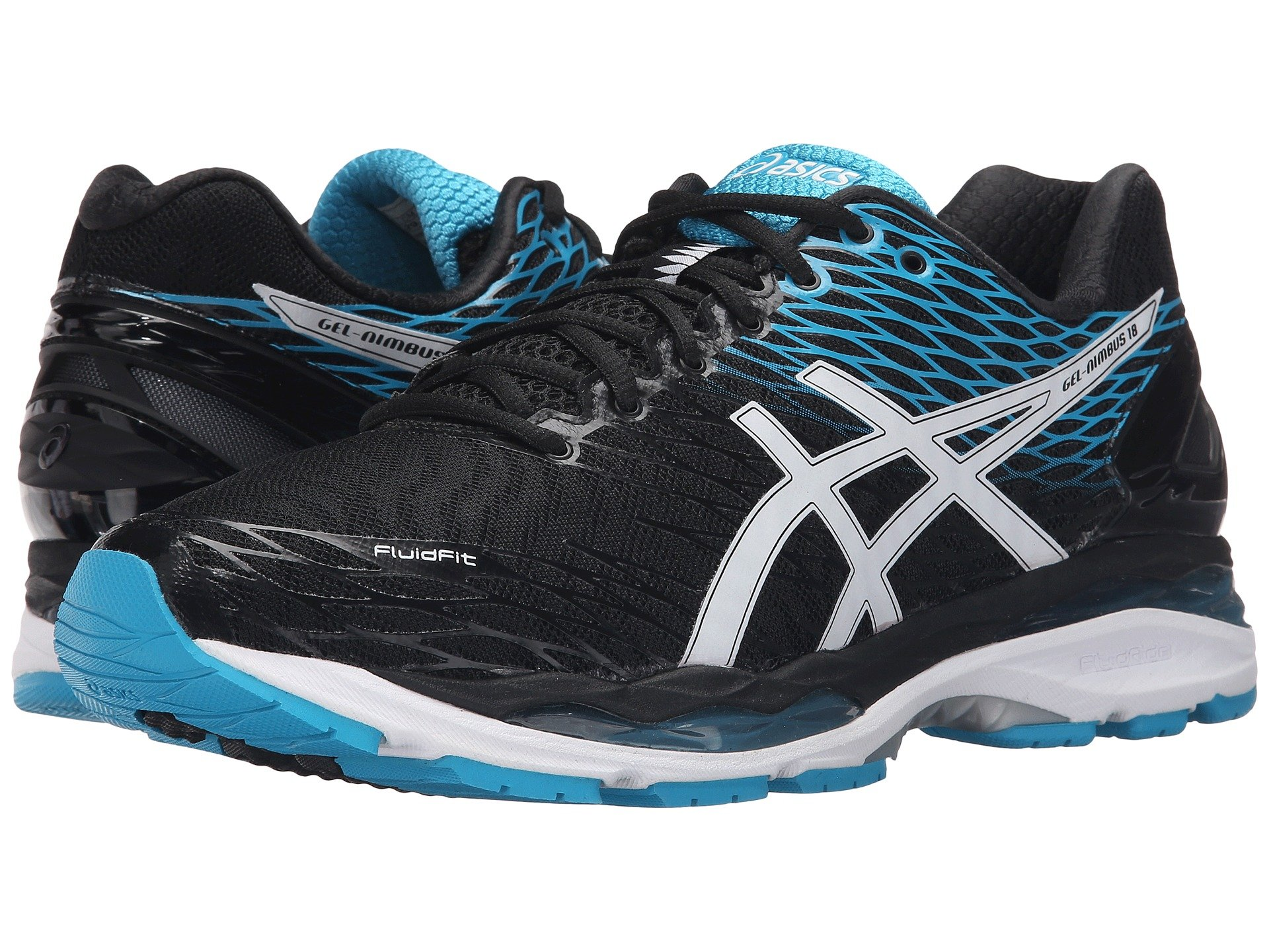 asics gel nimbus 18 at 6pm. Black Bedroom Furniture Sets. Home Design Ideas