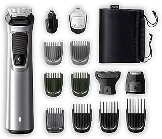 Philips MG7720/18 Recortadora 14 en 1 Maquina recortadora de barba y Cortapelos para hombre, óptima precisión, tecnología ...