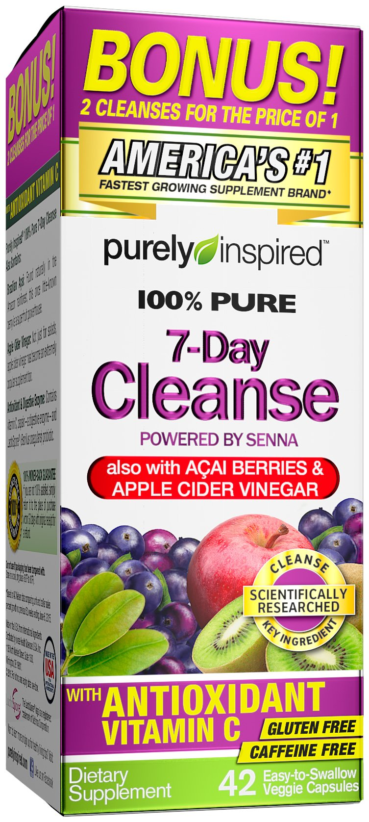 Purely Inspired Antioxidant Superfruits Probiotic