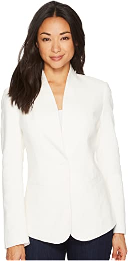 Pendleton - Collarless One-Button Blazer