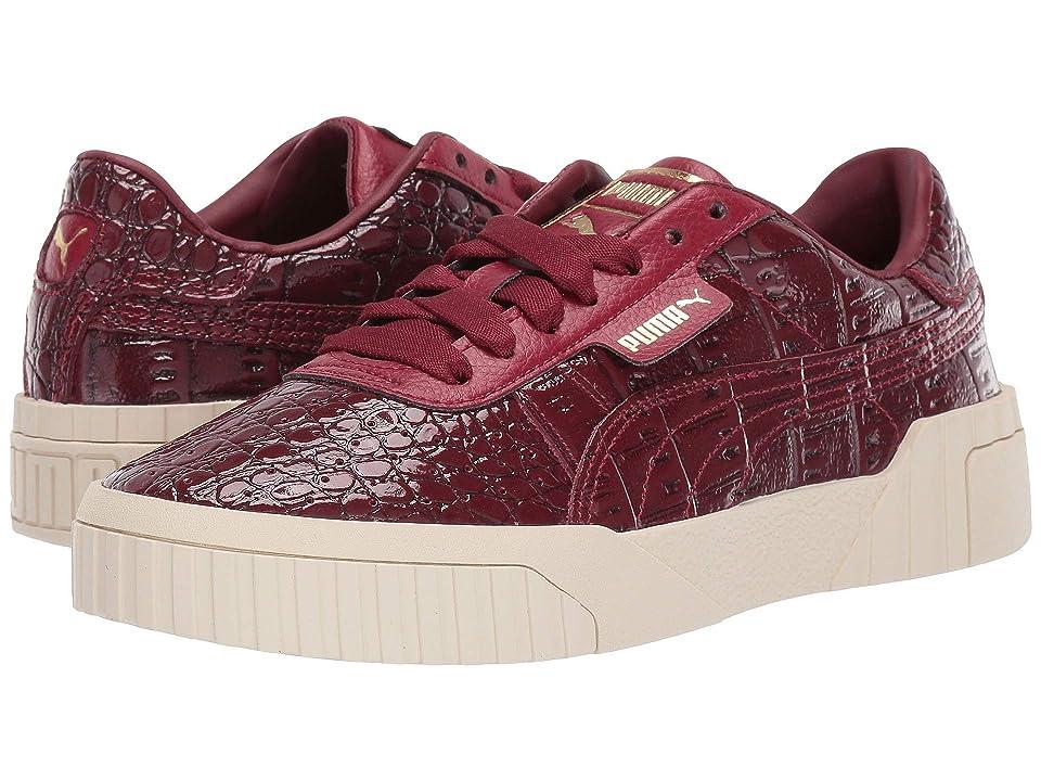 PUMA Cali Croc (Pomegranate Pomegranate) Women s Shoes a7117c6a3