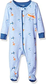 The Children's Place Boys' Long Sleeve One-Piece Pajamas