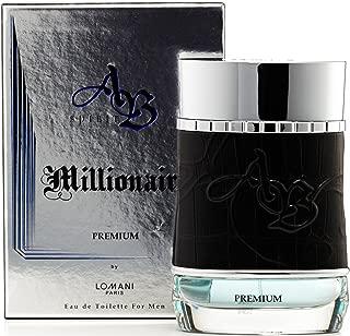 Ab Spirit Millionaire Premium Eau de Toilette Spray for Men by Lomani