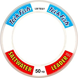 Triple Fish Saltwater Leader Clear 50 Yard Wrist Spool