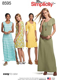 8595Pattern 8595 Women's Knit Dresses