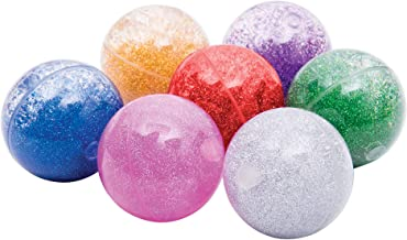 TickiT Sensory Rainbow Glitter Balls - Set of 7-2.6