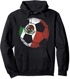 Mexico Soccer Ball Flag Jersey Hood - Mexican Football Gift