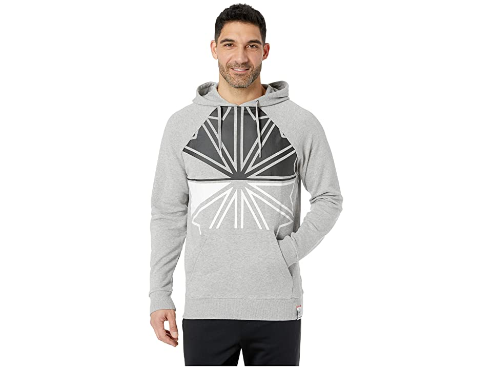 Reebok Reebok Classics Starcrest Hoodie (Medium Grey Heather) Men
