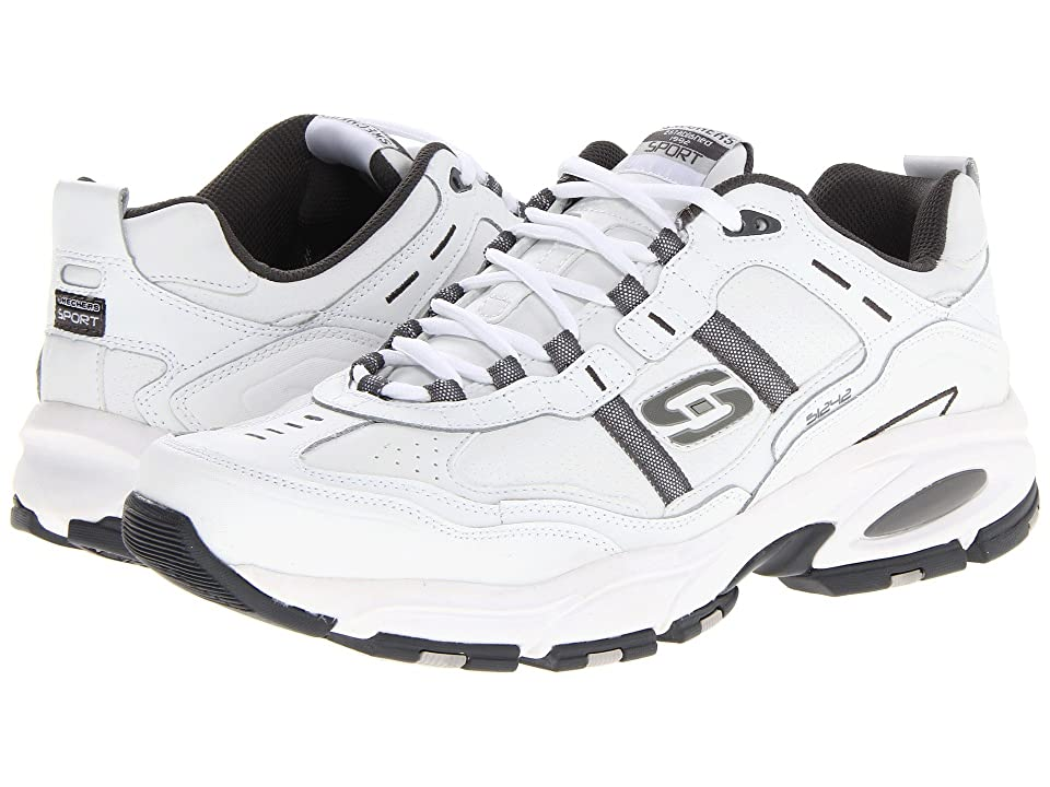 0adf1238e09f ... Charcoal Vigor 2.0 UPC 887047655253 product image for SKECHERS Vigor 2.0  Serpentine (White) Men s Running Shoes ...