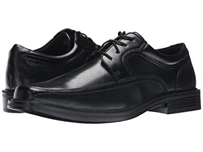 Dockers Manvel Moc Toe Oxford (Black Polished Full Grain) Men