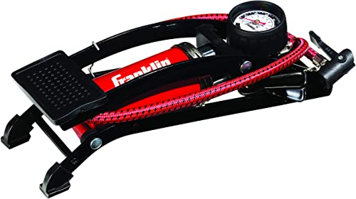 Franklin Sports High Pressure Foot Pedal Air Pump for Balls, Bikes, Inflatables and More