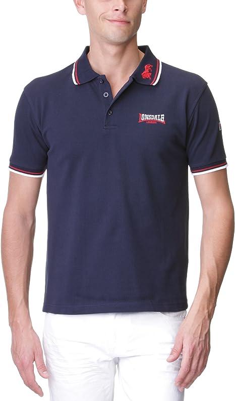 Lonsdale London Herren Polo-Shirt Lion