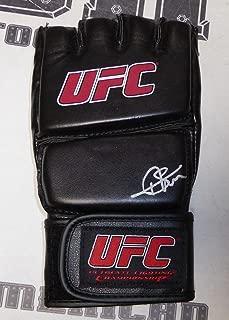 Thiago Silva Signed UFC Glove COA Autograph 71 75 78 84 94 102 108 125 - PSA/DNA Certified - Autographed UFC Gloves