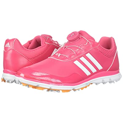 adidas Golf Adistar Lite Boa (Real Pink/Footwear White/Real Gold) Women