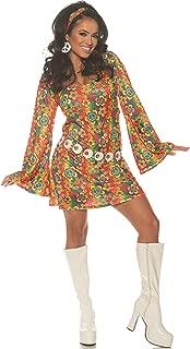 Summer Womens Adult 60S Hippie Costume