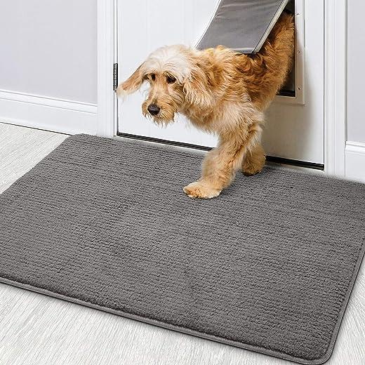 Color&Geometry Schmutzfangmatte 50 x 80 cm Türmatte Fußmatte Schmutzfänger rutschfest, Maschinenwaschbar, Weich, Saugfähiger Teppich für Eingang,...