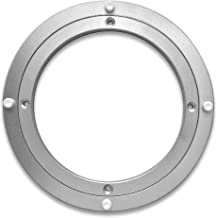Troops BBQ Lazy Susan Turntable Ring - Medium-Duty Aluminum Lazy Susan Bearing Hardware Single-Row Ball Bearings for Heavy Loads (225 lbs. Capacity) - 8 Inches