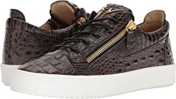 Giuseppe Zanotti - May London Stamped Low Top Sneaker