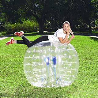 Body Bumper Bubble Soccer Balls for Kids/Adults, 5 FT Zorb Ball 1 Pack W/Bonus Carry Bag