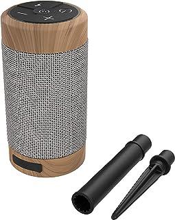 KitSound Diggit 55 Portable Bluetooth Speaker - Brown