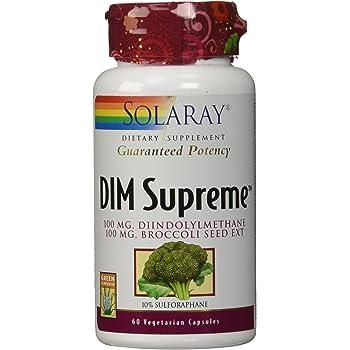 Solaray Dim Supreme, 100mg | 60 Count