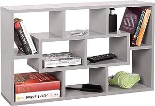 RICOO WM050-PL Estantería Pared 85x48x16cm Estante Colgante Librería Flotante Mueble almacenaje Almacenamiento Libros Bibl...