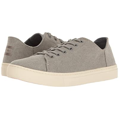 TOMS Lenox Sneaker (Drizzle Grey Washed Canvas) Women