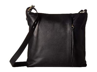 Hobo Drifter (Black) Cross Body Handbags